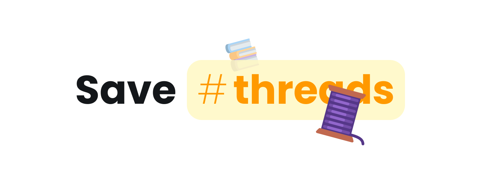 Save #threads