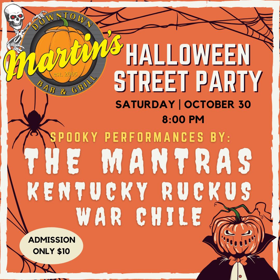 Halloween Street Party