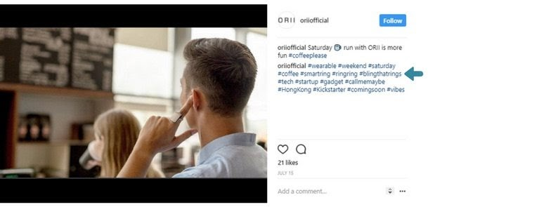 Instagram Hashtags Strategy
