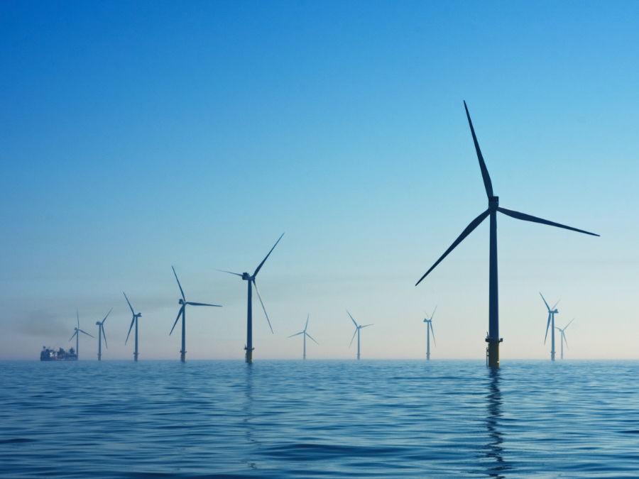 Grüner Wasserstoff aus Windkraft