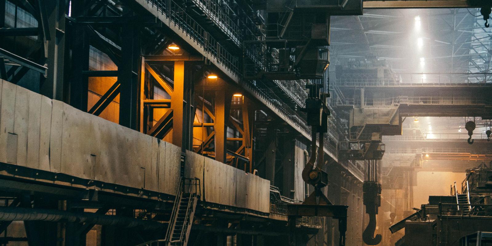 Industrie im hamburger Hafen