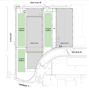 The Beacon Site map