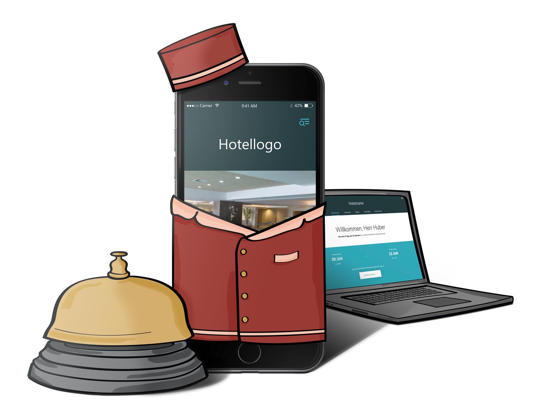 Ihr digitaler Concierge - Key Visual