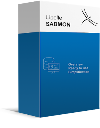Boîte de produits de Libelle SABMON