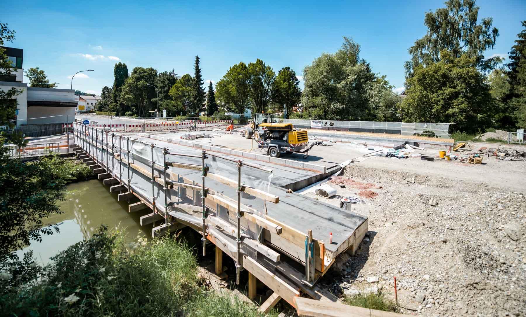 Bauwerkserhlatung – Sanierung einer Brücke