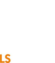 LS Bau AG Logo in weiß
