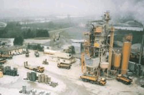 Asphaltmischanlage 1979