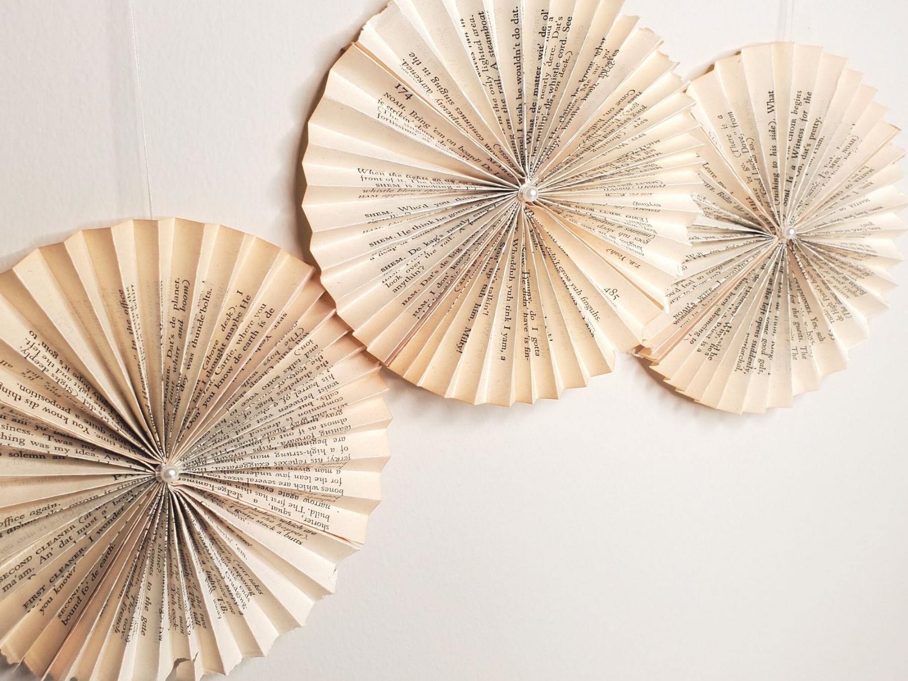 Book Pinwheels - Small