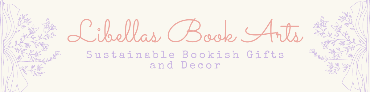 Libellas Book Arts - Sustainable Bookish Gifts and Decor