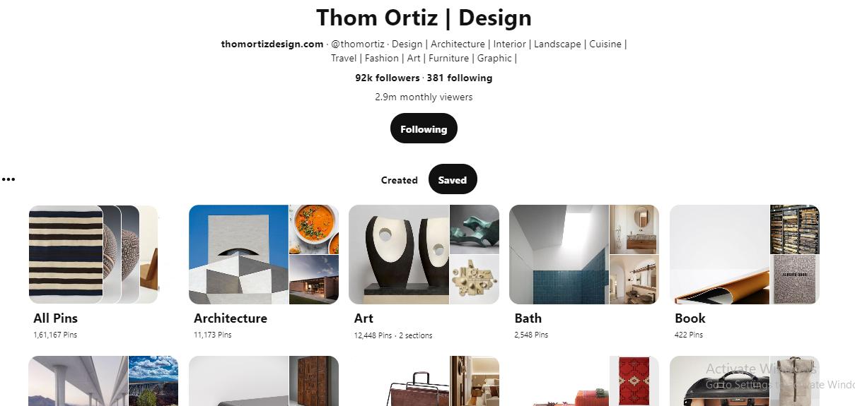 Thom Ortiz on Pinterest for Architects
