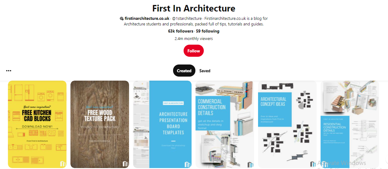 First in Architecture on Pinterest for Architects