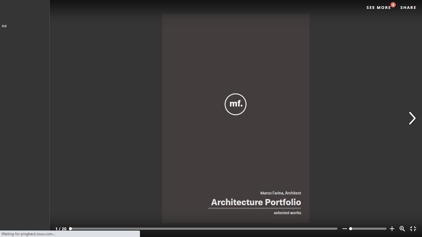 Architect portfolio - selected works