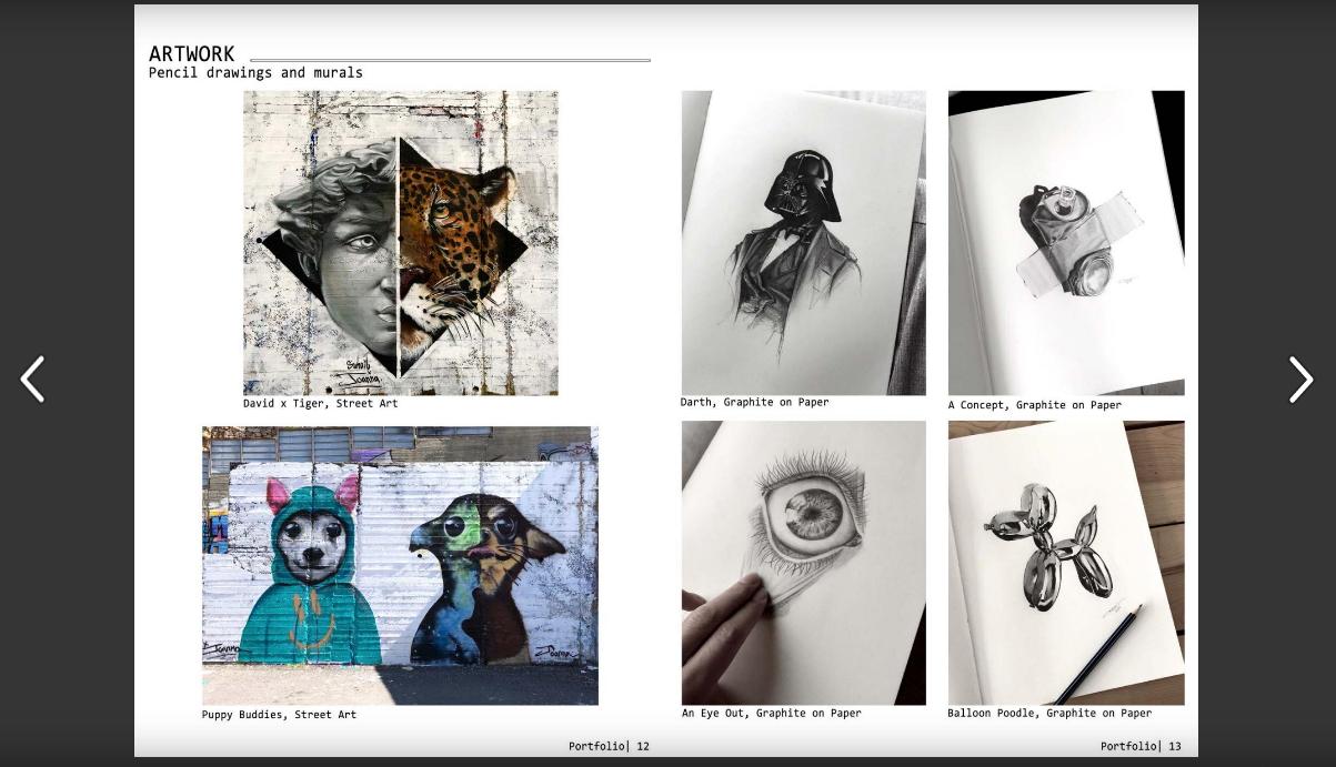 Architecture Student Portfolio - Joanna Arida