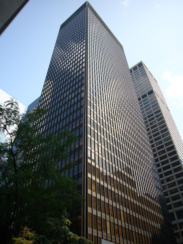 Seagram Building by Ludwig Mies van der Rohe
