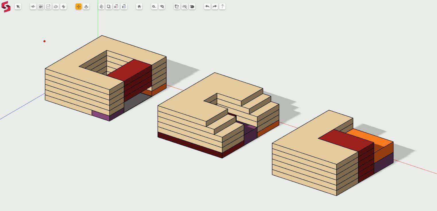 Parametric design on Snaptrude Building Information Modelling software