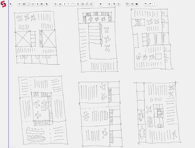 Snaptrude <b>BIM design software</b> on iPad