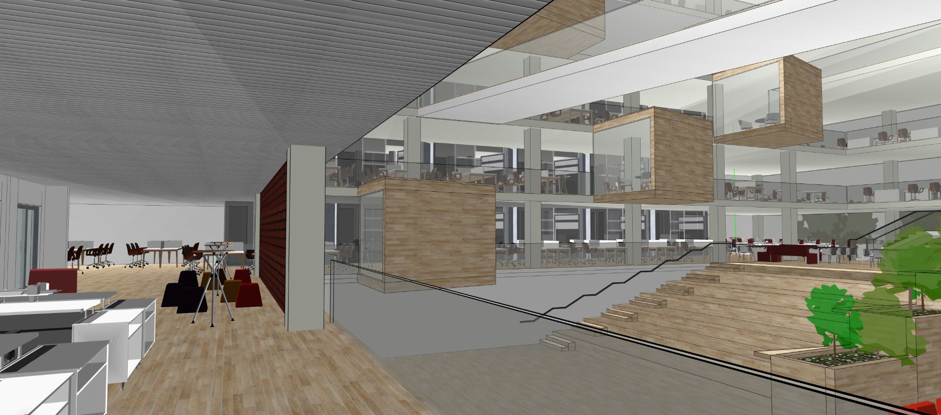 Office building design on Snaptrude