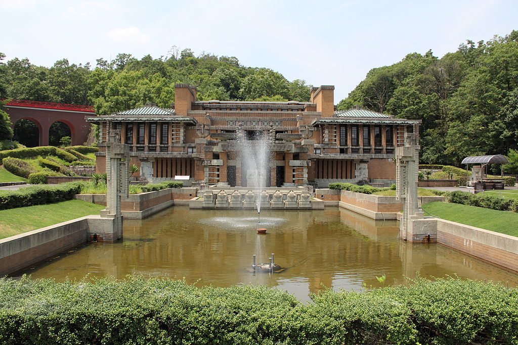 The Imperial Hotel in Tokyo by Frank Lloyd Wright
