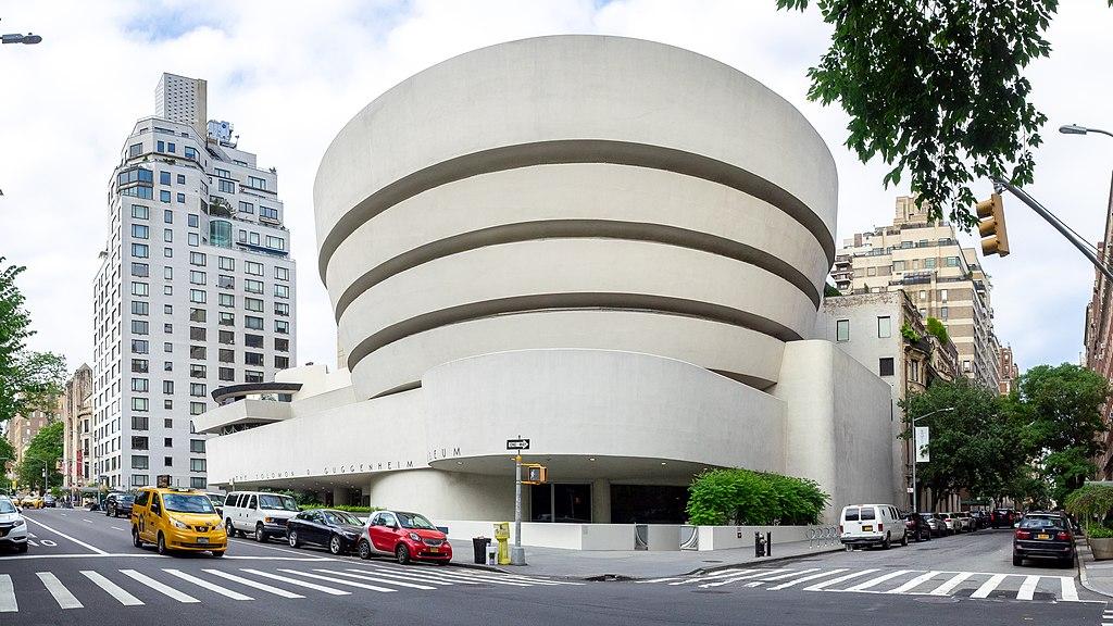 The Guggenheim Museum by Frank Lloyd Wright