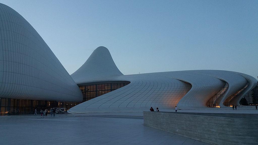 The Heydar Aliyev Centre by Zaha Hadid Architects