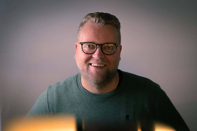 Dette er Tommy van Wallinga. Fotograf: Kevin Kulterud