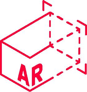 Icon von einer 3D Grafik
