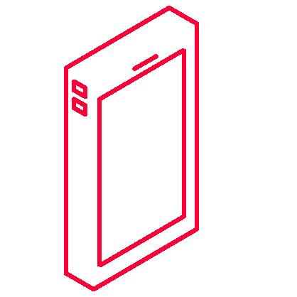 Icon von einem Smartphone