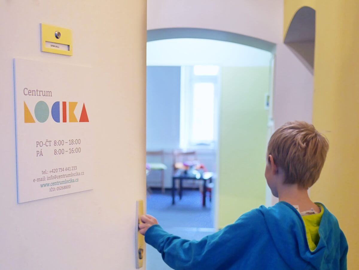 Centrum LOCIKA poskytuje terapeutické služby pro děti
