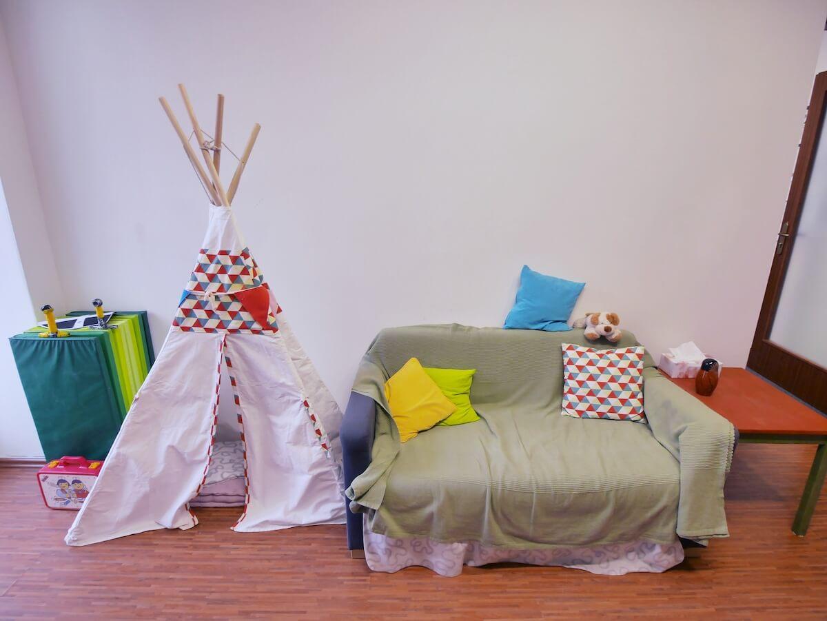 Terapeutická místnost pro děti v Centru LOCIKA