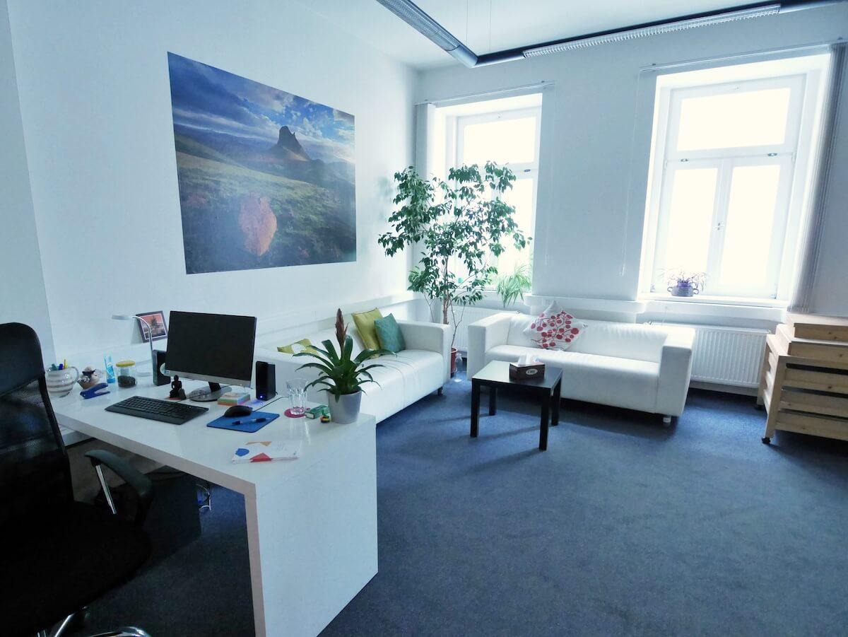 Terapeutická místnost pro dospělé v Centru LOCIKA