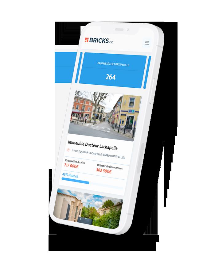 bricks - l'immobilier dès 10 euros