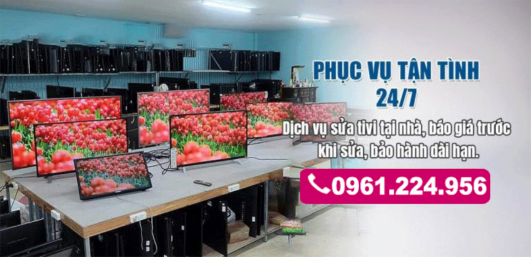 Sửa tivi tại Thạch Bàn Long Biên ĐT: 0924 189 669