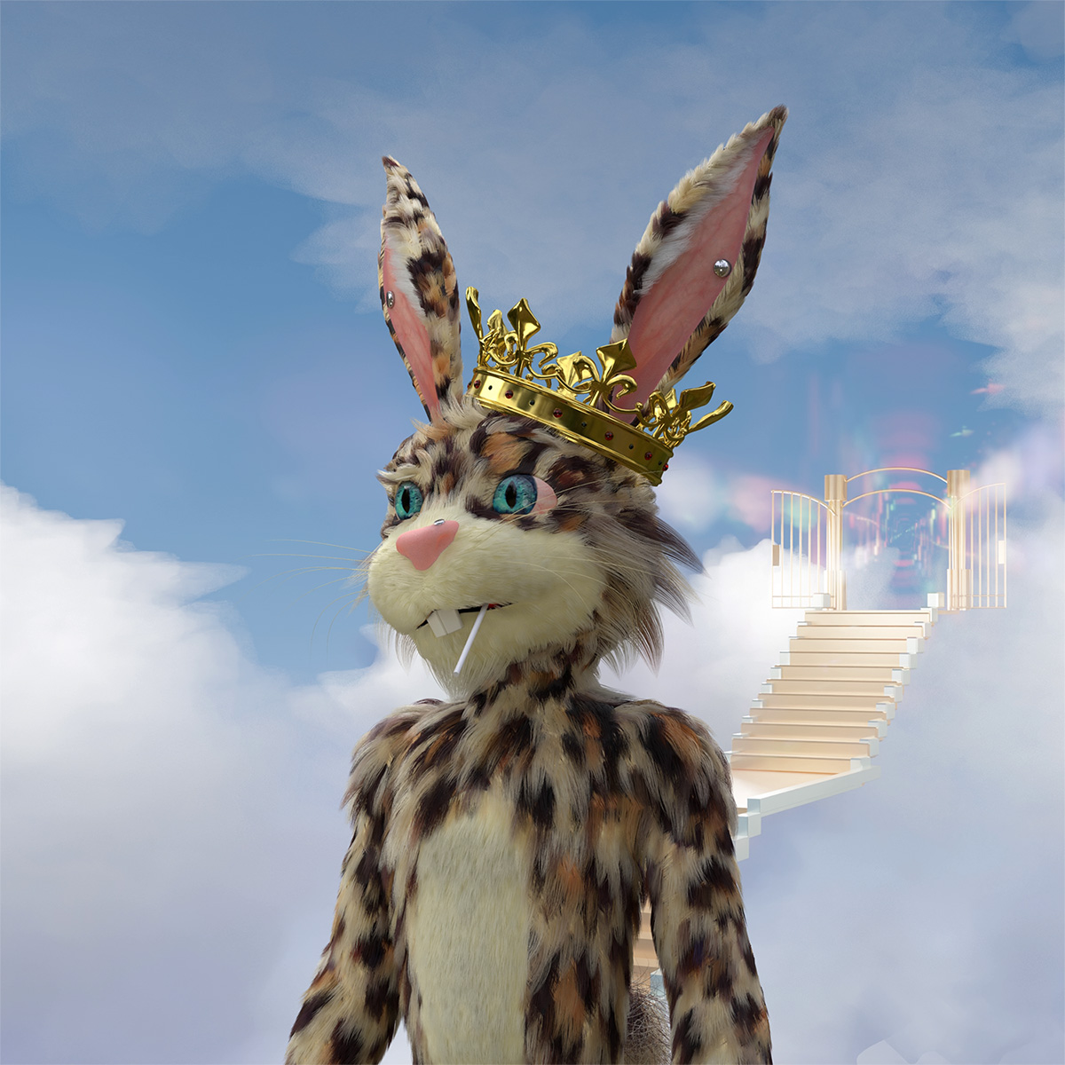 What the Fluf? 3D Bunnies Break the Blockchain