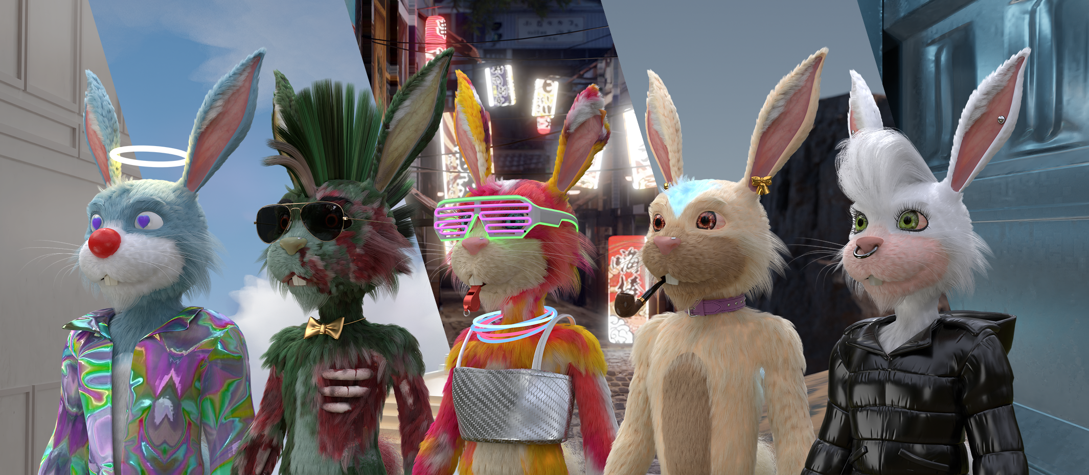 FLUF World: 3D rabbit avatars created by Kiwi team total US$42 million in sales in 5 weeks