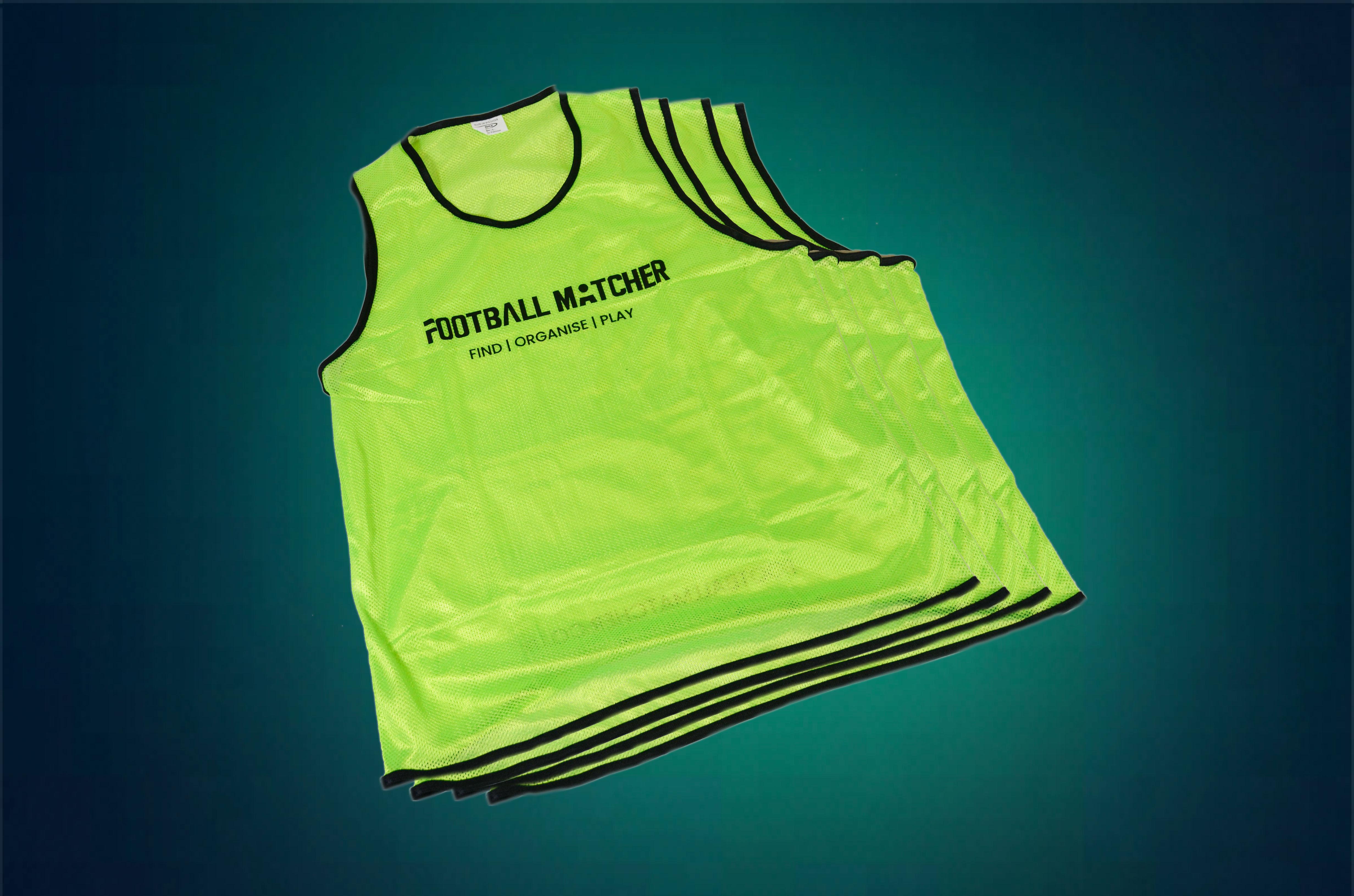 FM Green Mesh Bibs (8 pack)