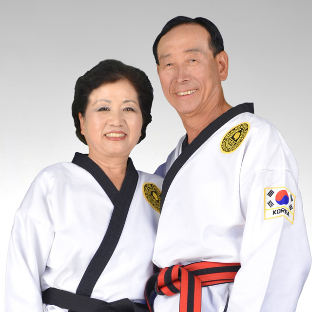 Grand Master Kim and his wife