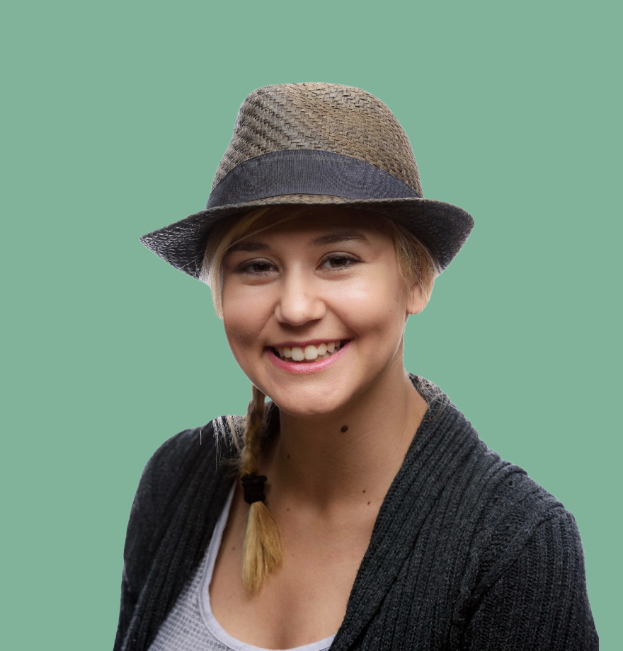 Kayla, product designer at Shopify
