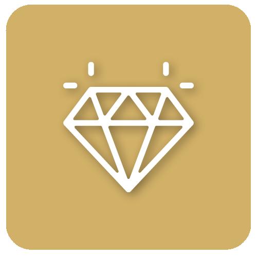 Pictogramme d'un diamant
