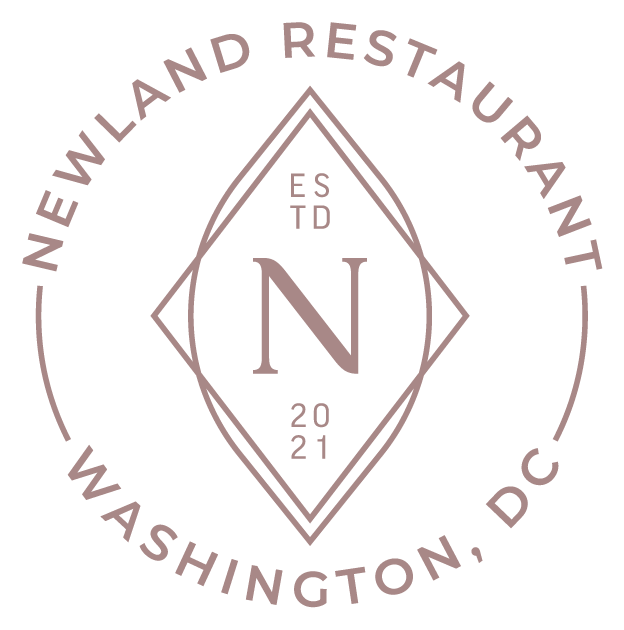 Newland Restaurant circle badge