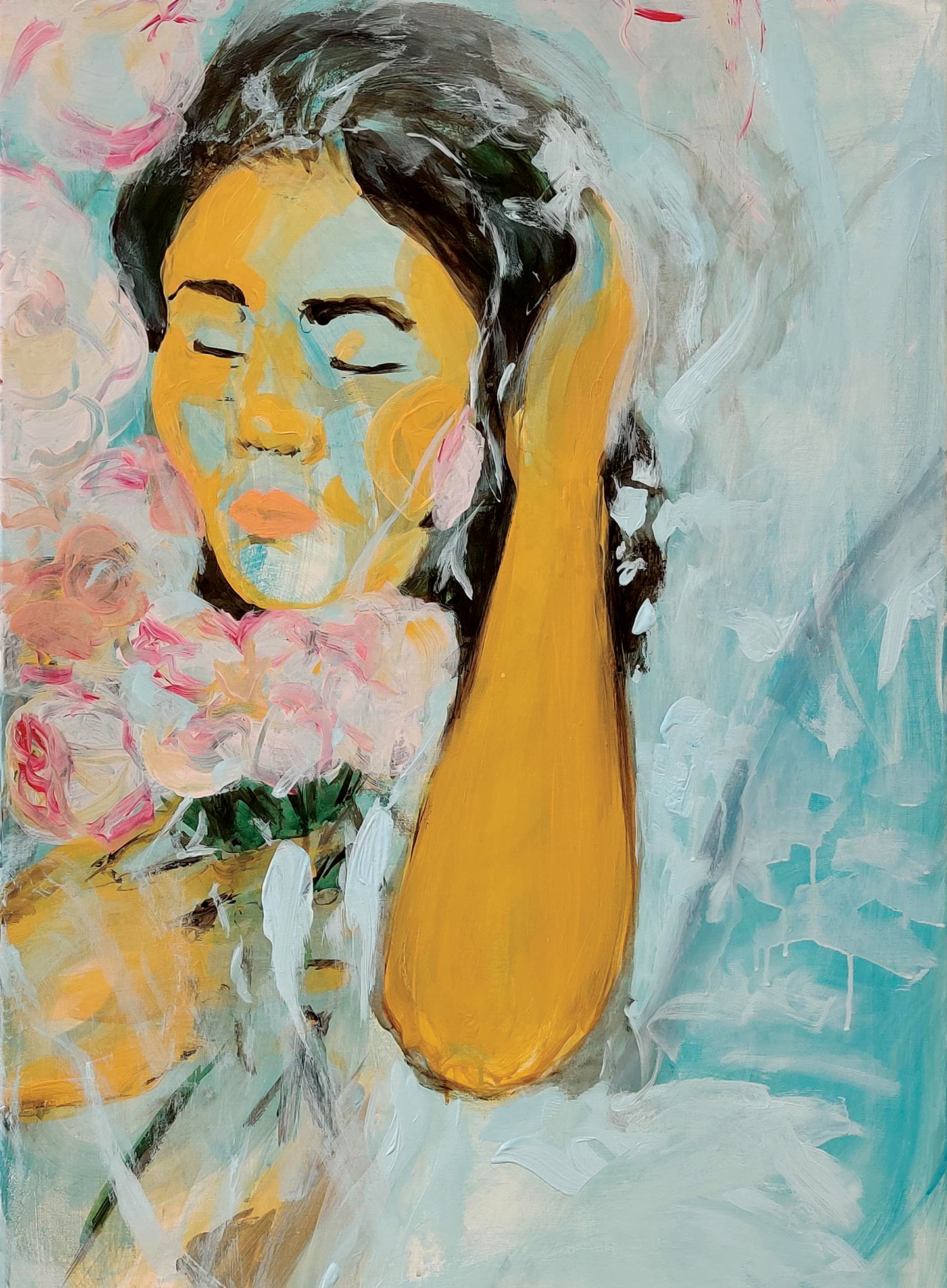 Online branding voor kunstenares Astrid Chamberland door Studio Roem
