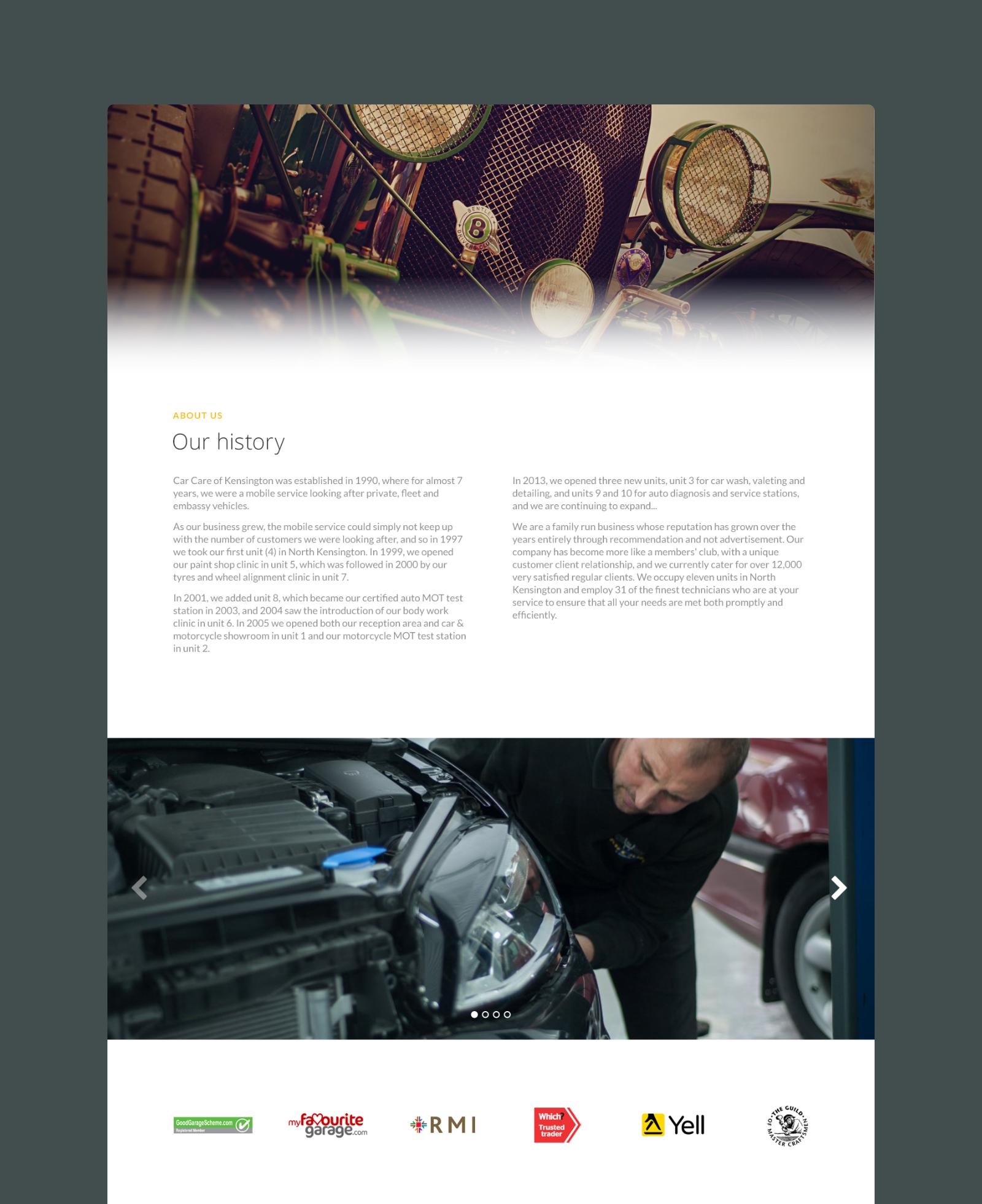 Car Care of Kensington Brand Story