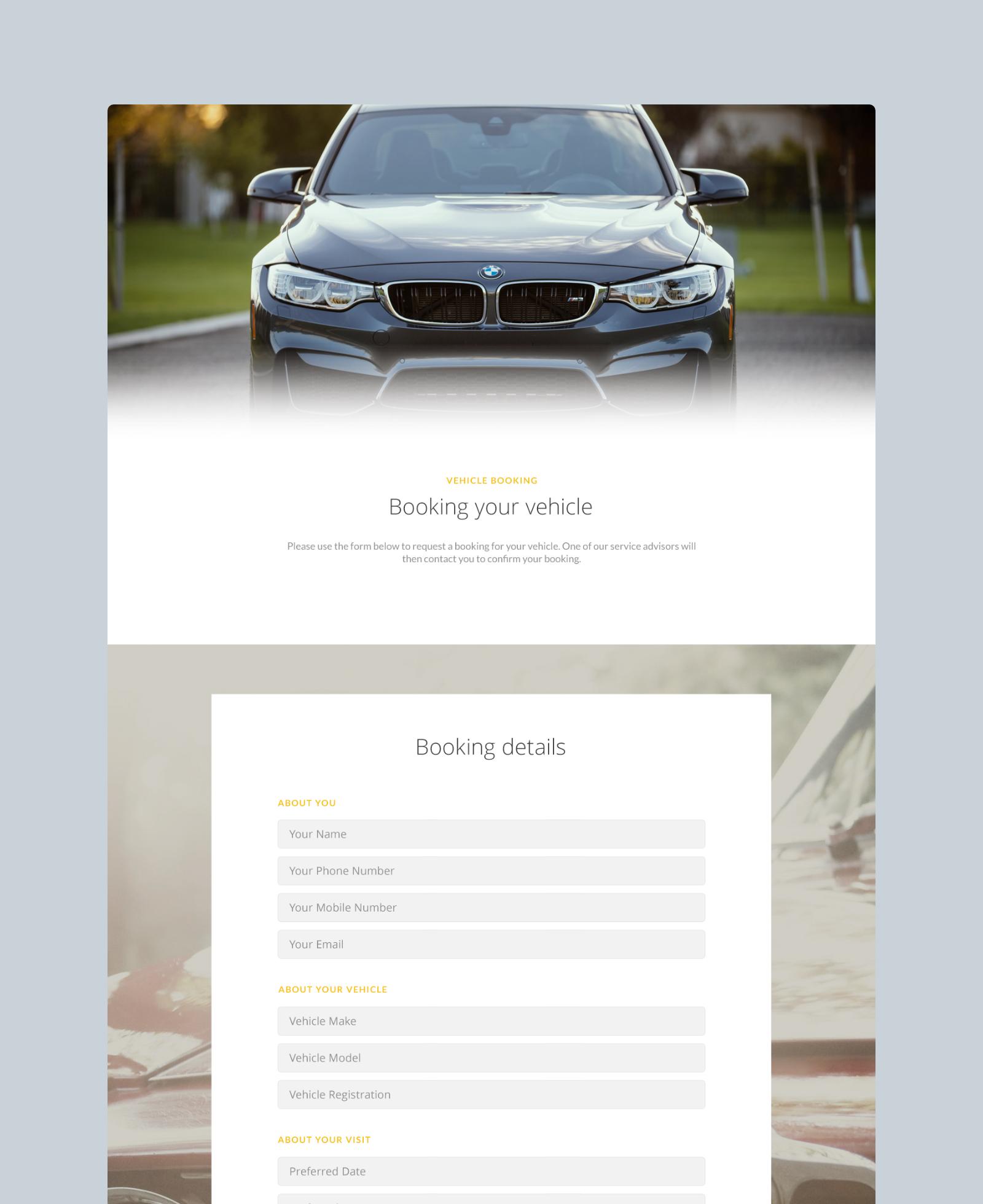 Car Care of Kensington Membership