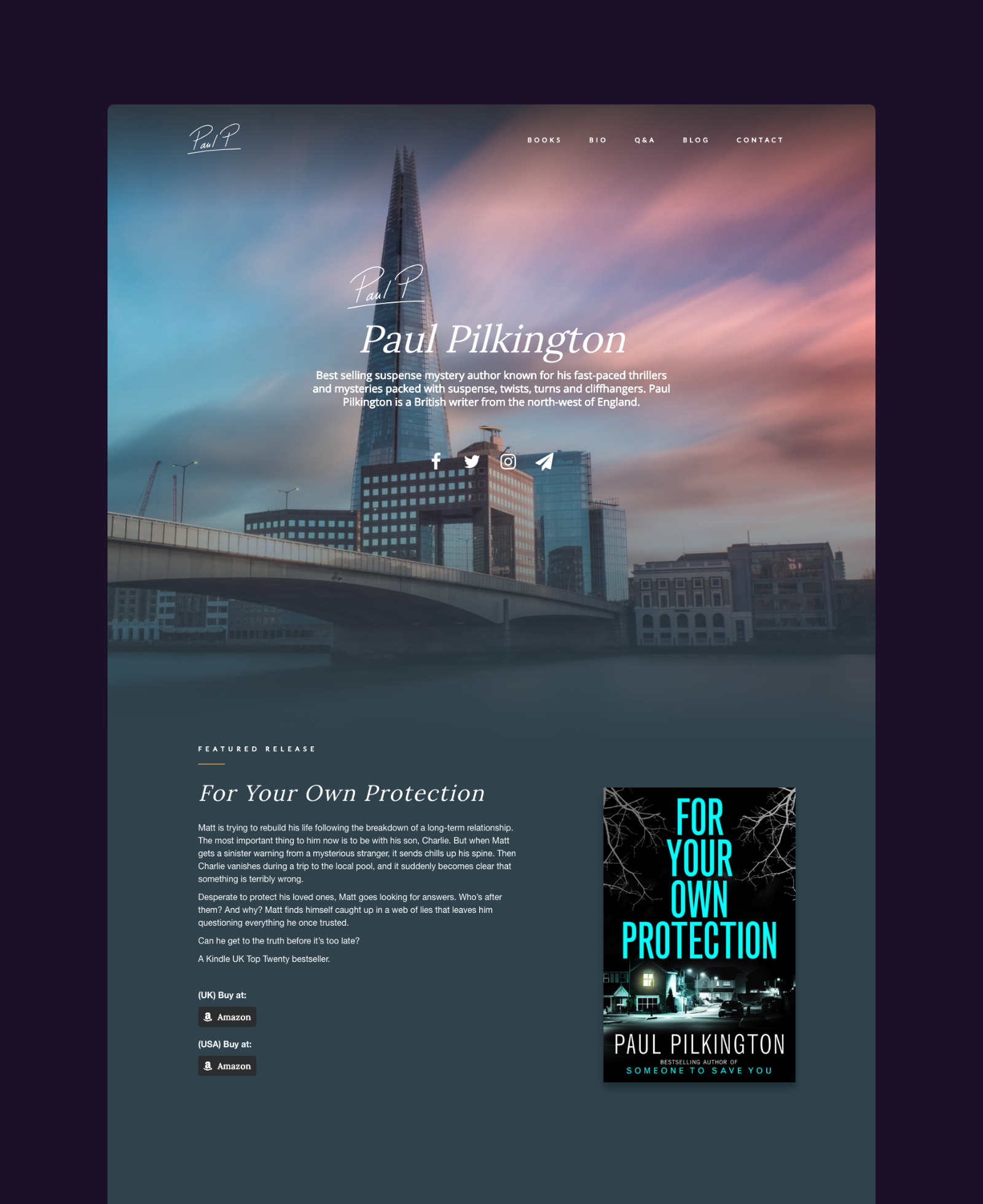 Paul Pilkington Home Page