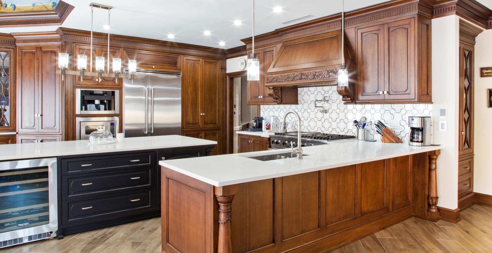 Classic provincial kitchen Millstone, NJ