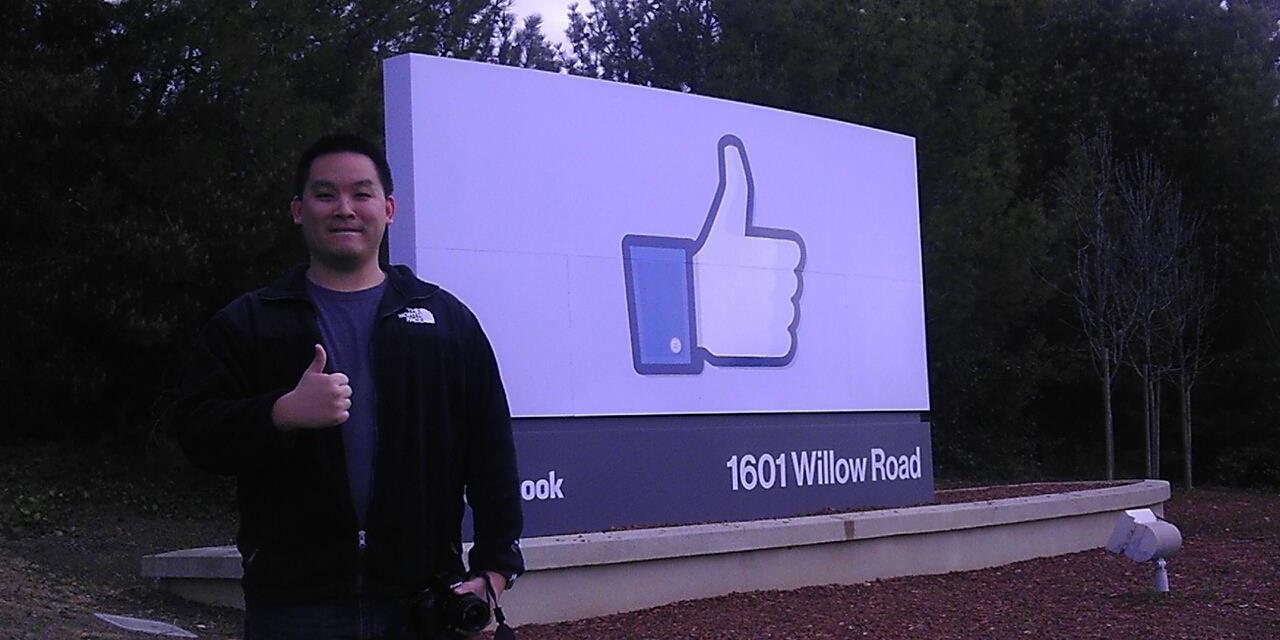 Howard Huang At Facebook HQ
