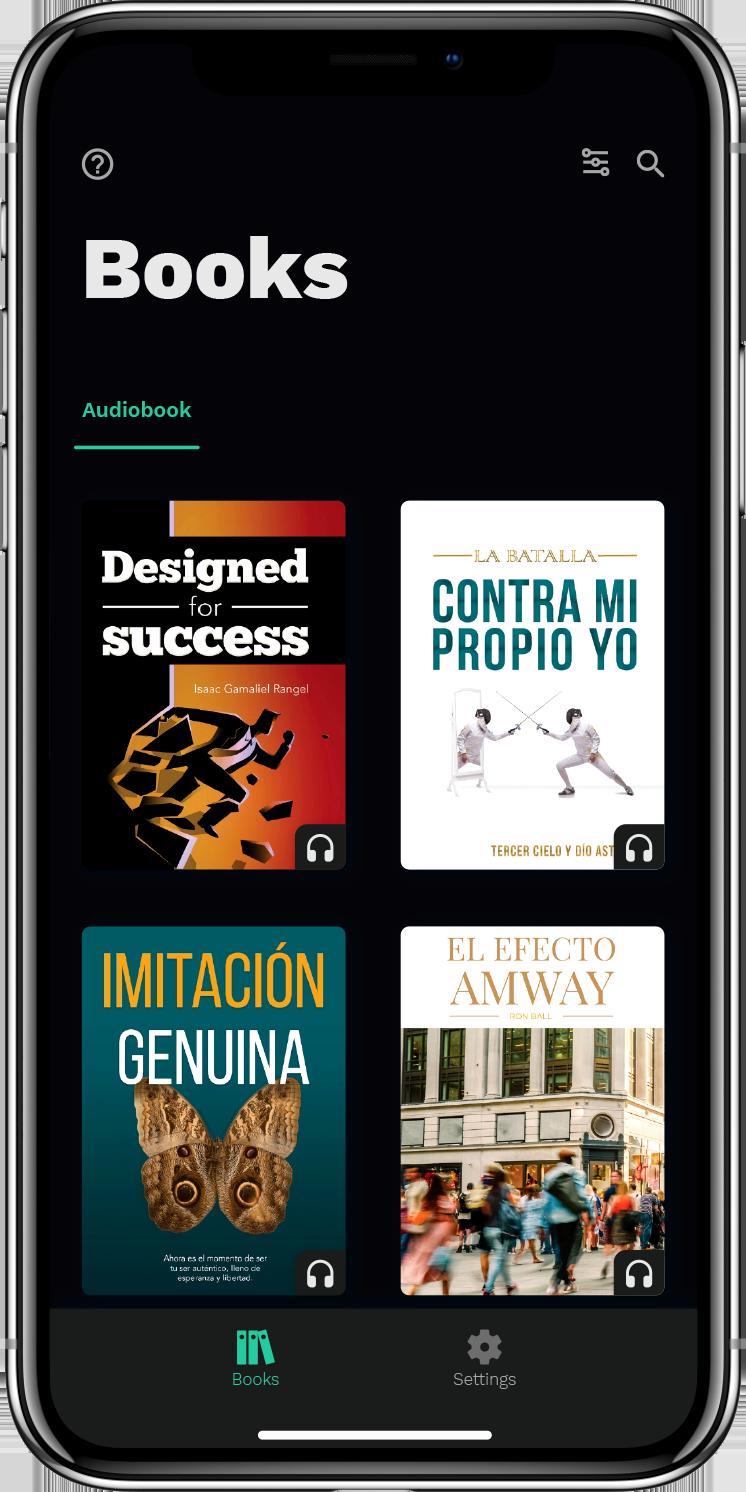 Auris Book Screen