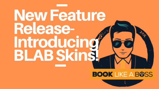 New Feature Release! Skins for Book Like a Boss Pages