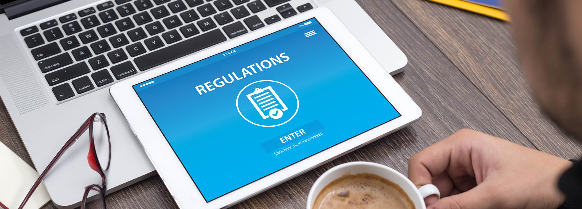 What regulations affect your online service business?