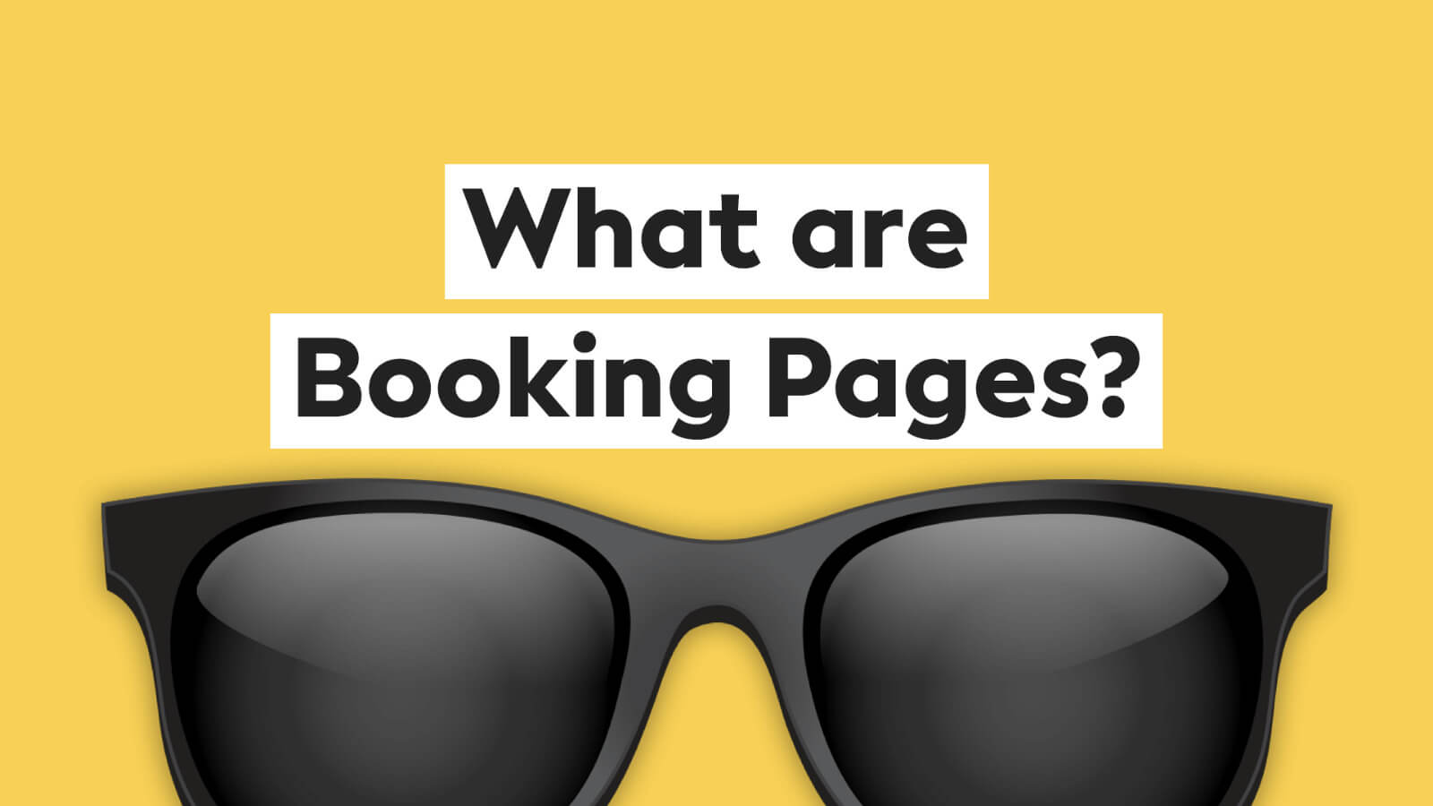 What are booking pages