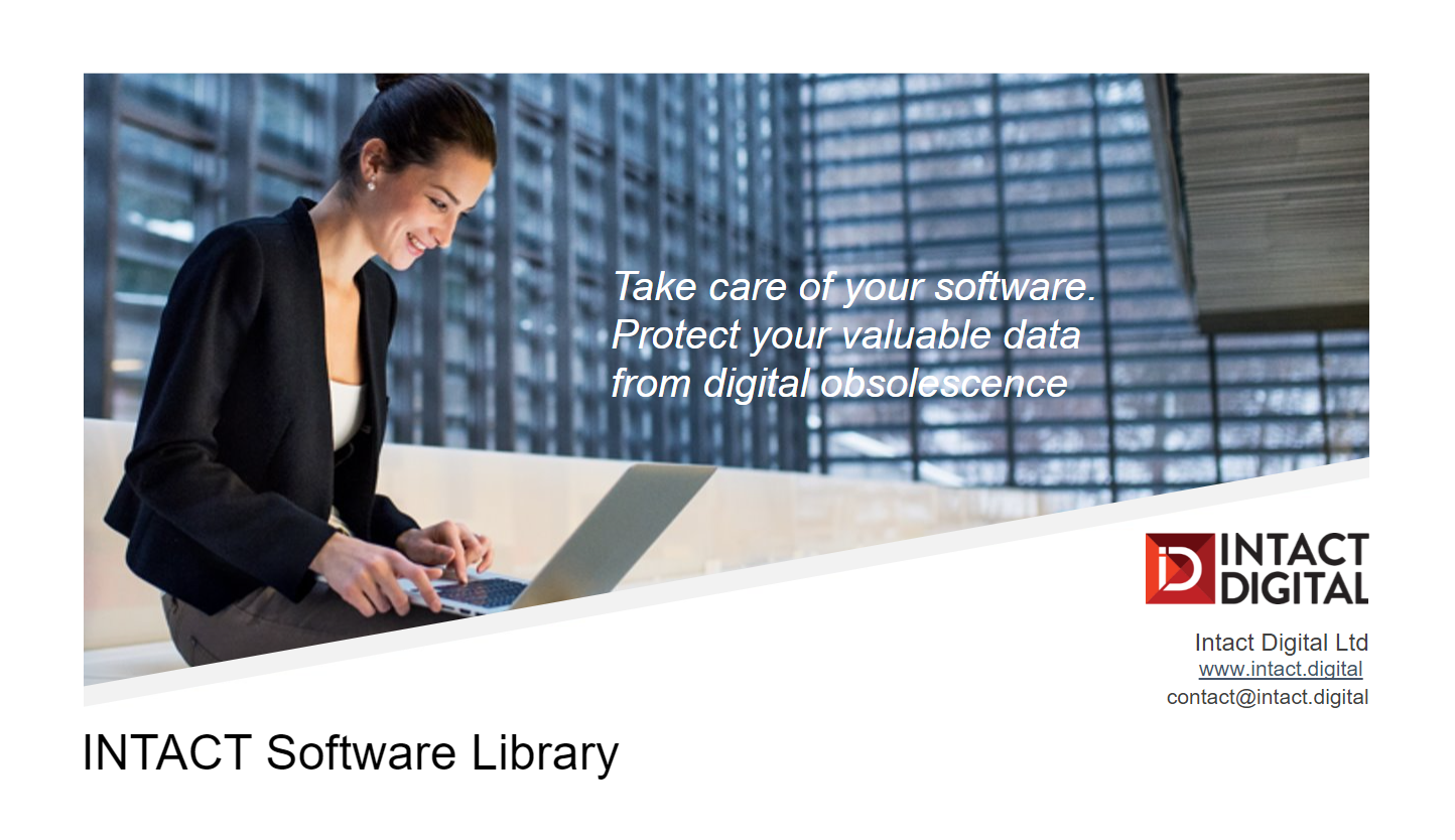 INTACT Software Library Brochure 2021